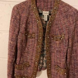 Tracy Reese Jacket with Jewels